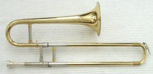 Zugtrompete ohne Quartventil