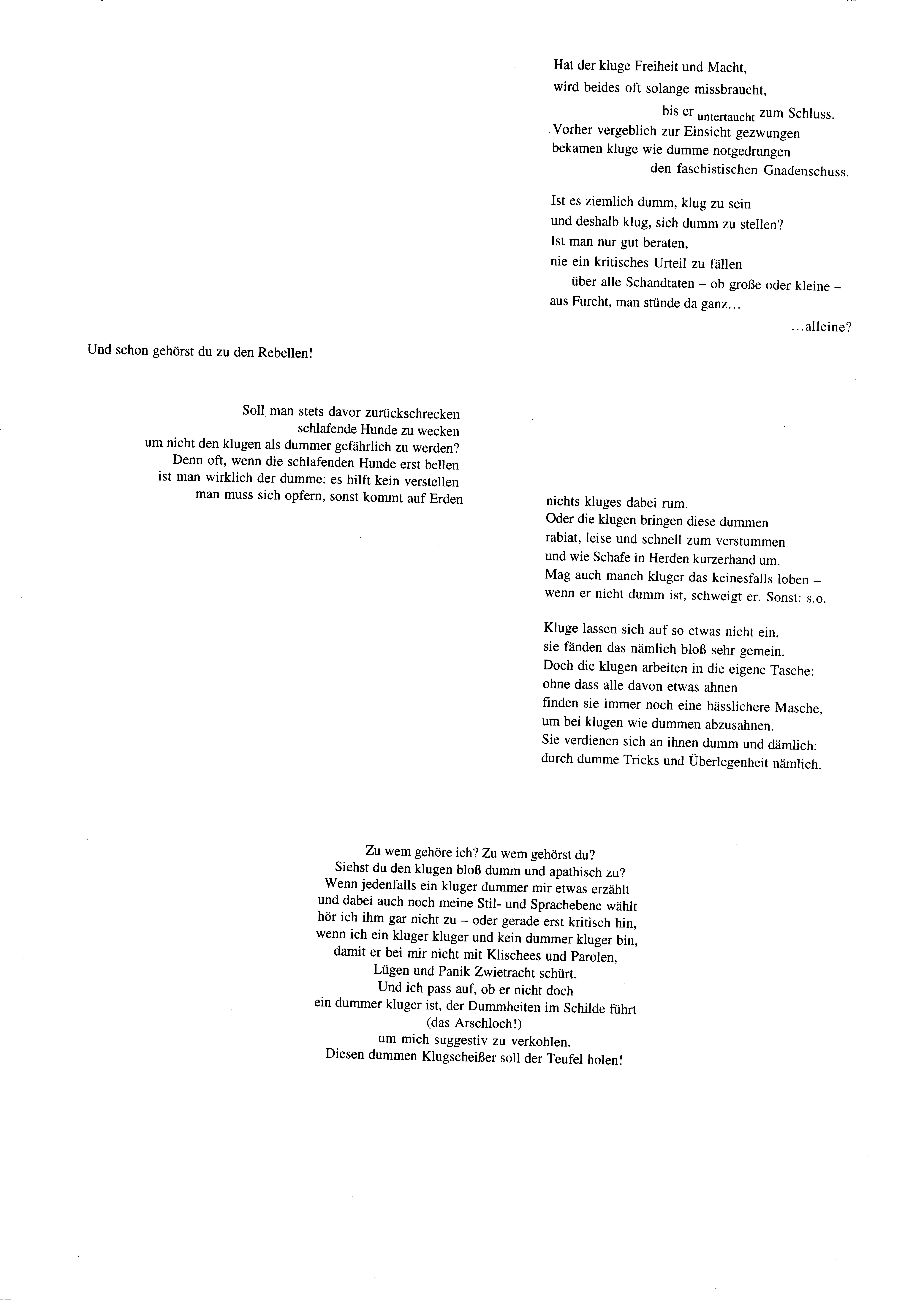 Allegorische Fuge Seite 2