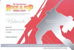 bester deutscher Text 2007 Schrumpfbild